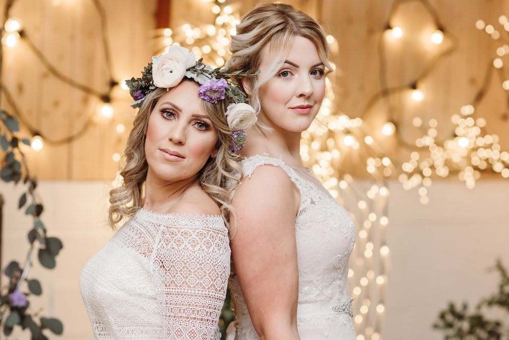 Two brides are better than one - Lancashire