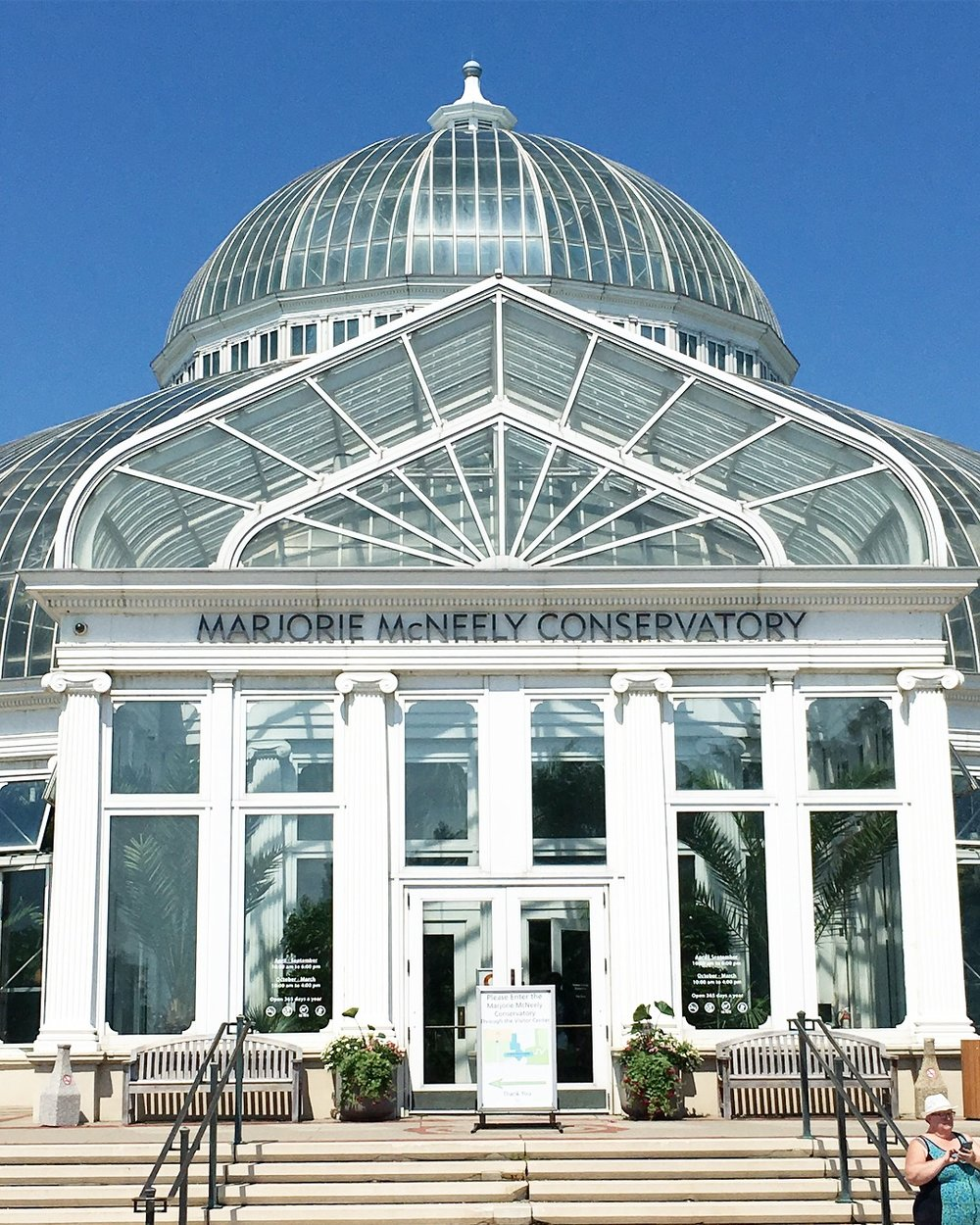 Marjorie McNeely Conservatory (St. Paul, MN)