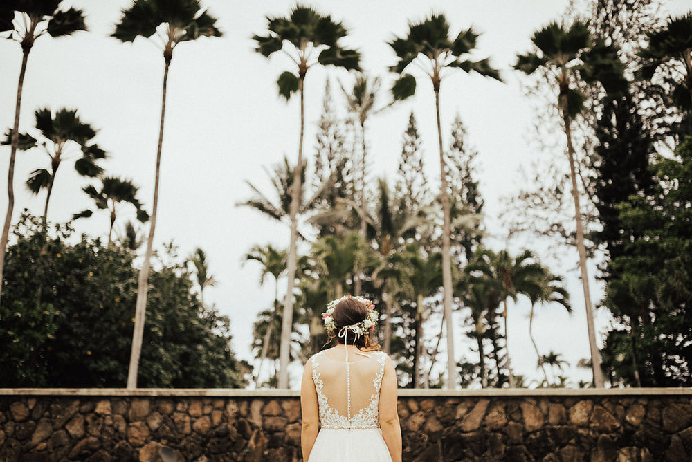 Oahu Elopement | Bridal Portraits