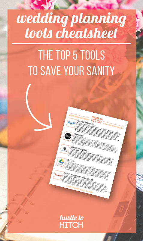 Learn about my 5 favorite tools that kept me on my toes throughout the wedding planning process. Download my free cheatsheet for more details and some handy tutorials.