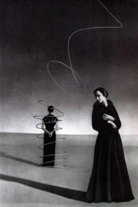 hoodoothatvoodoo:  Elsa Schiaparelli photographed by Andre Durst 1936