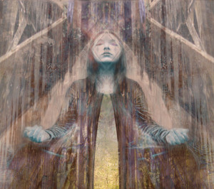 ASTRAL VISION Fine Art Print, Vespertina, Warrior Goddess, Empowered Woman, Spiritual
