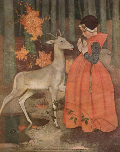 Marianne Stokes (Austrian, 1855-1927) - Title?  (Ladies' Home Journal Cover, 1907) by sofi01 on Flickr.