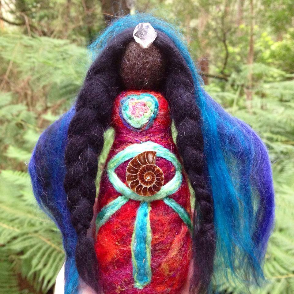 AmmoniteDreamer medicine doll by Sacred Familiar