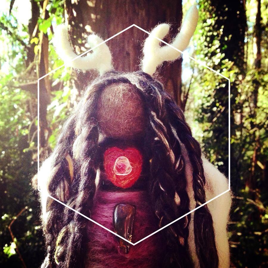 DeerHeart Medicine Doll by Sacred Familiar