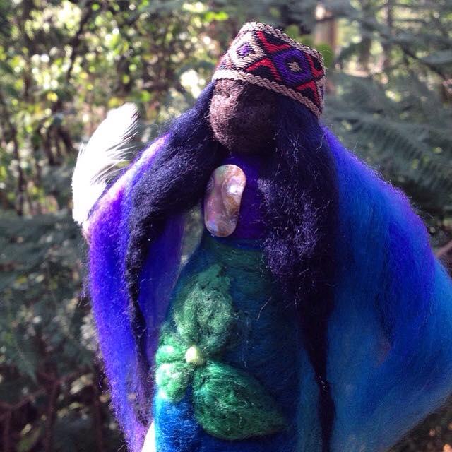 Trillium Silent Watcher medicine doll