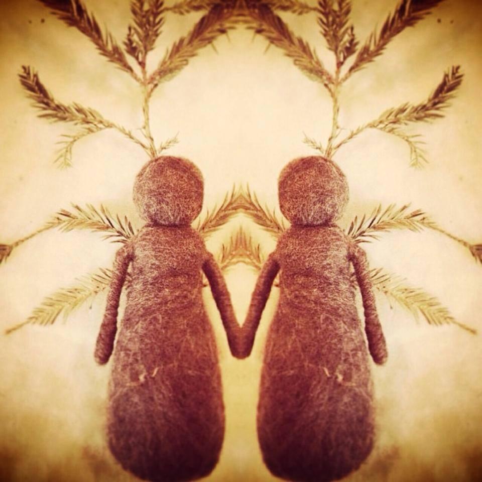 Sequoia Sisters medicine dolls sacred familiar