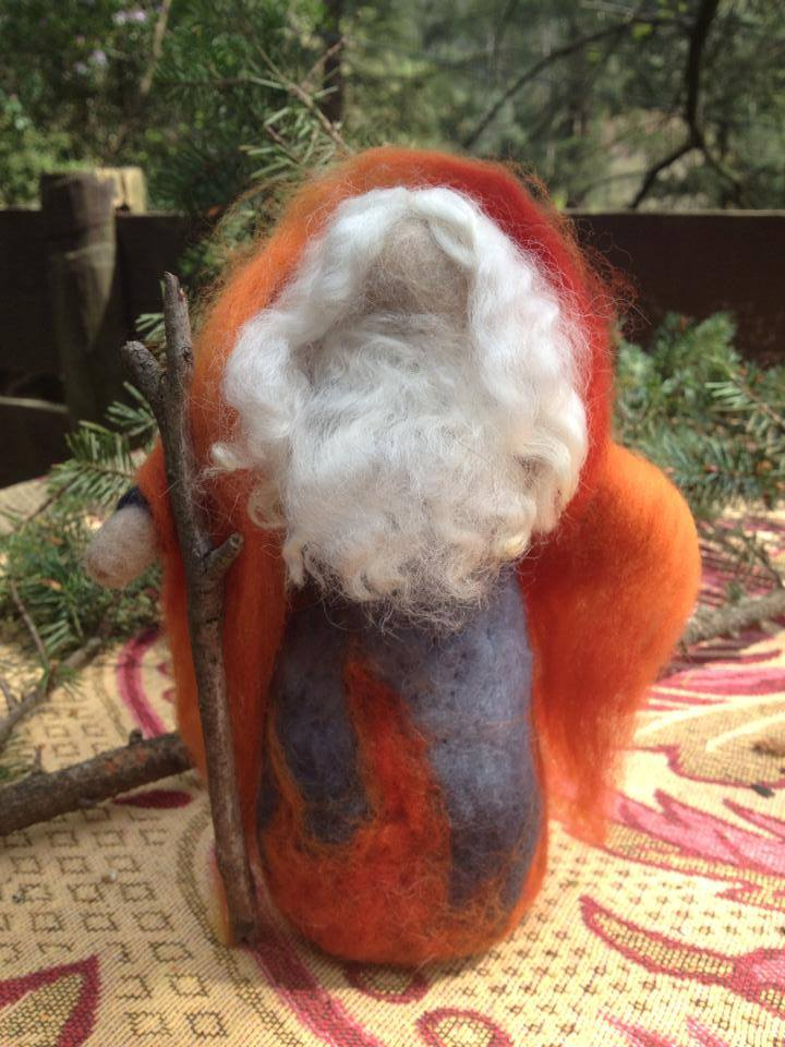 Wise Man doll by Sacred Familiar