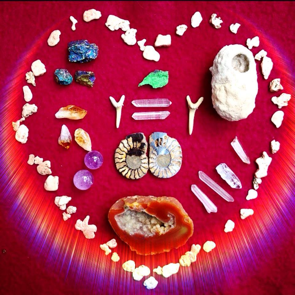 Crystals for Sacred Familiar Medicine Dolls