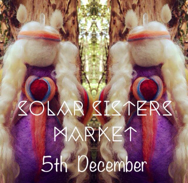 SolarSisters Medicine doll market with Sacred Familiar