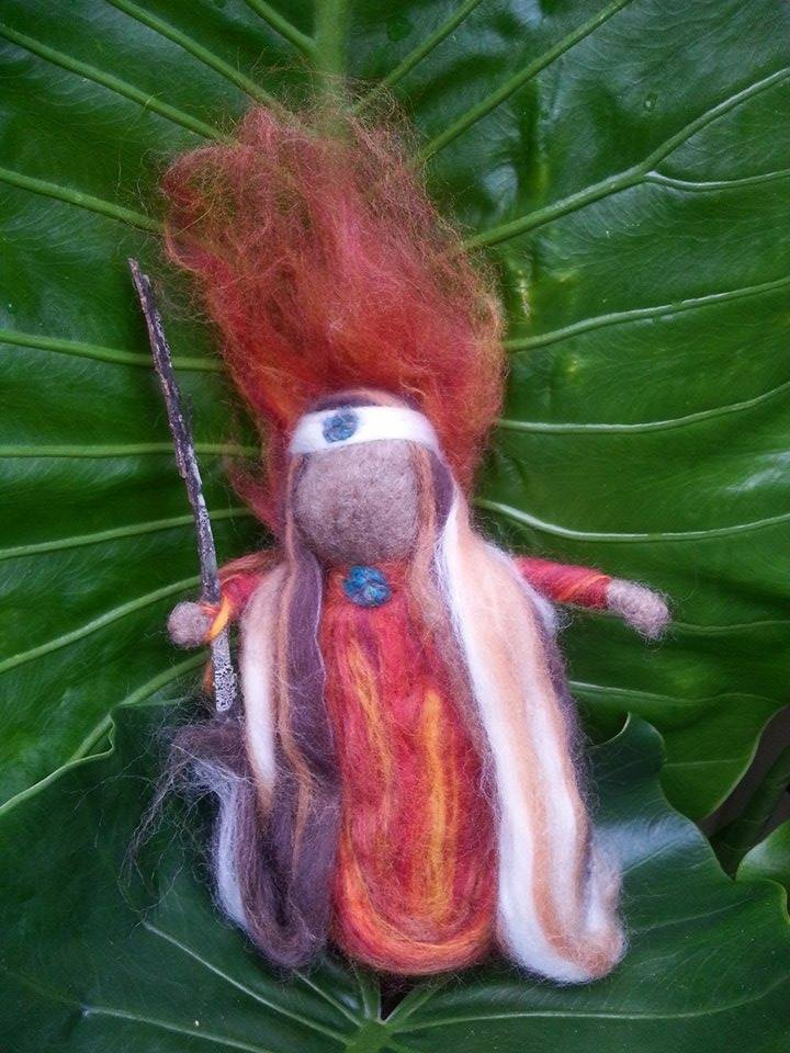 Medicine Doll made at Sacred Familiar workshop