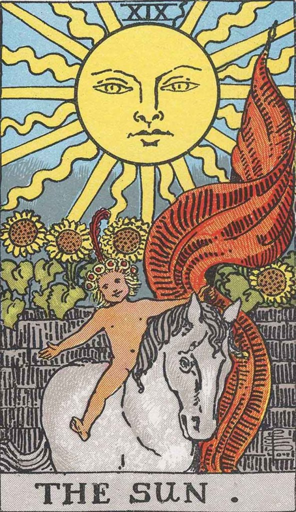 The Sun Tarot Card RW