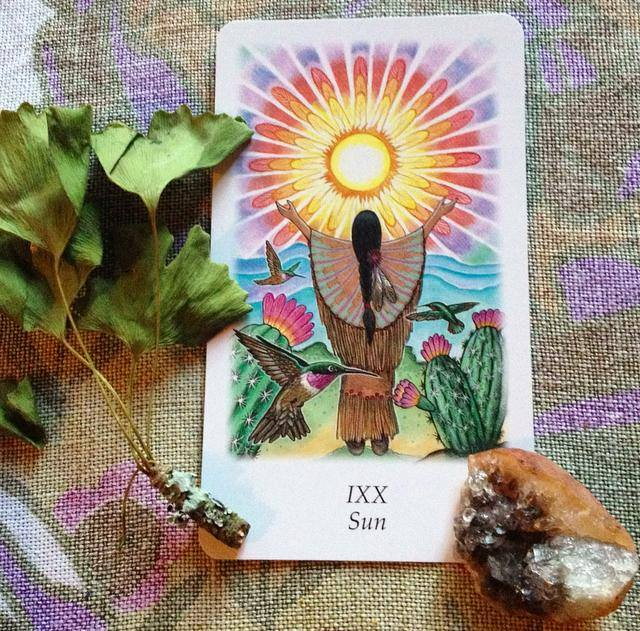 Vision Quest Tarot reading with Sacred Familiar