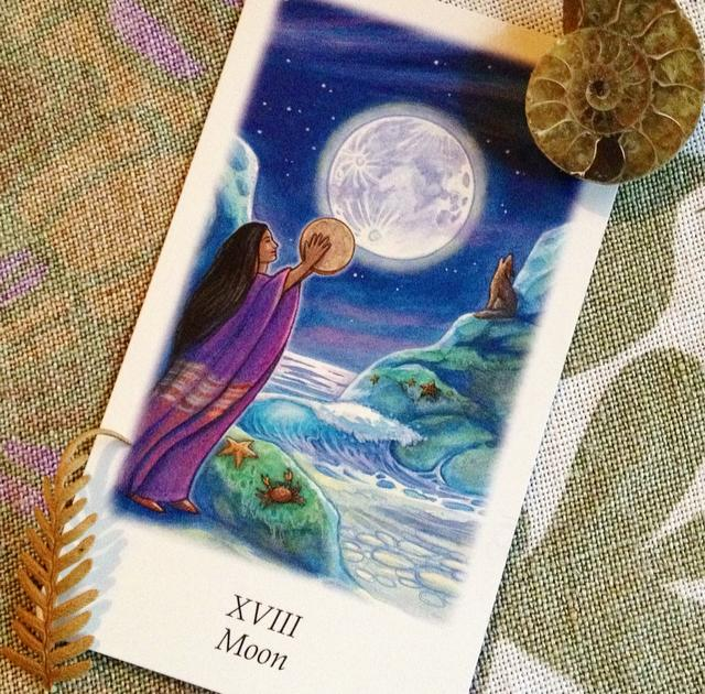 vision Quest Tarot with Sacred Familiar