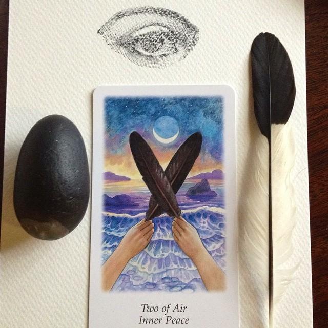 Tarot with Sacred Familiar