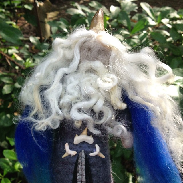 Wizard doll by Sacred Familiar