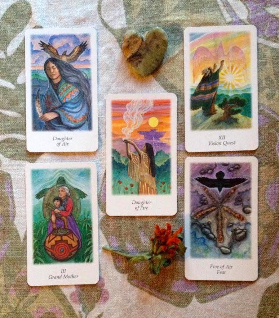 turning, tuning tarot by Sacred Familiar