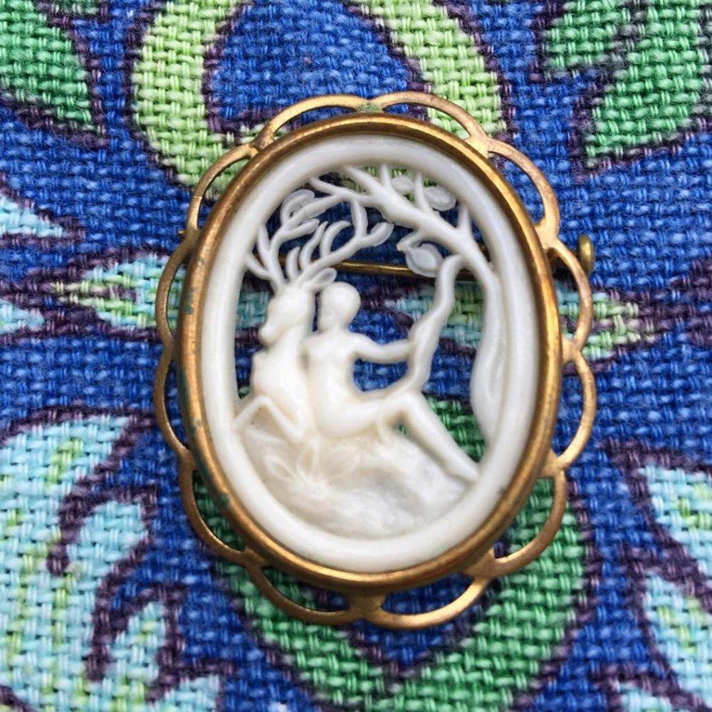 Artemis brooch Sacred Familiar
