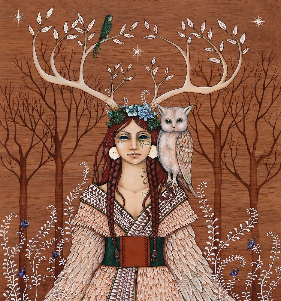 The Wood Witch by Nadia Turner