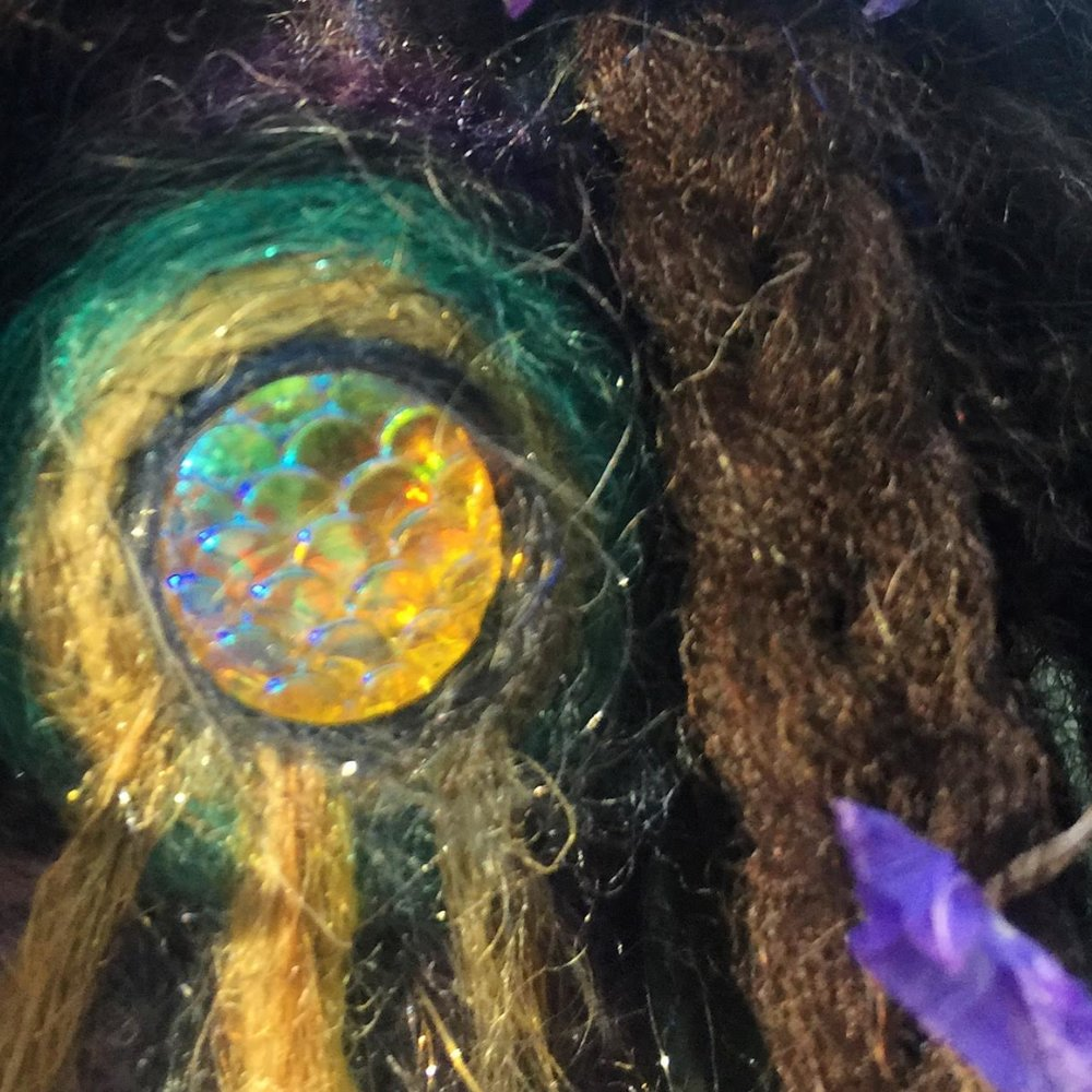Solar Plant Spirit Doll -