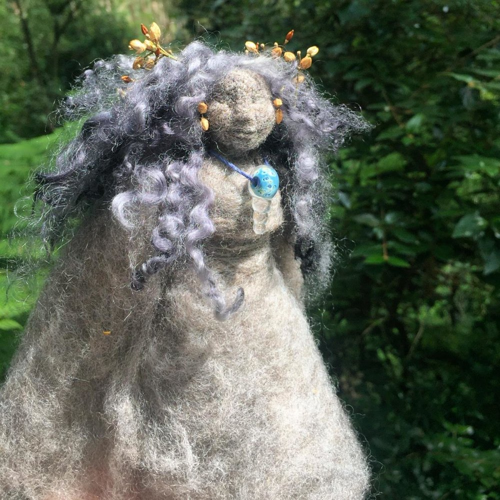 Swan Faerie Godmother Doll - Miriam