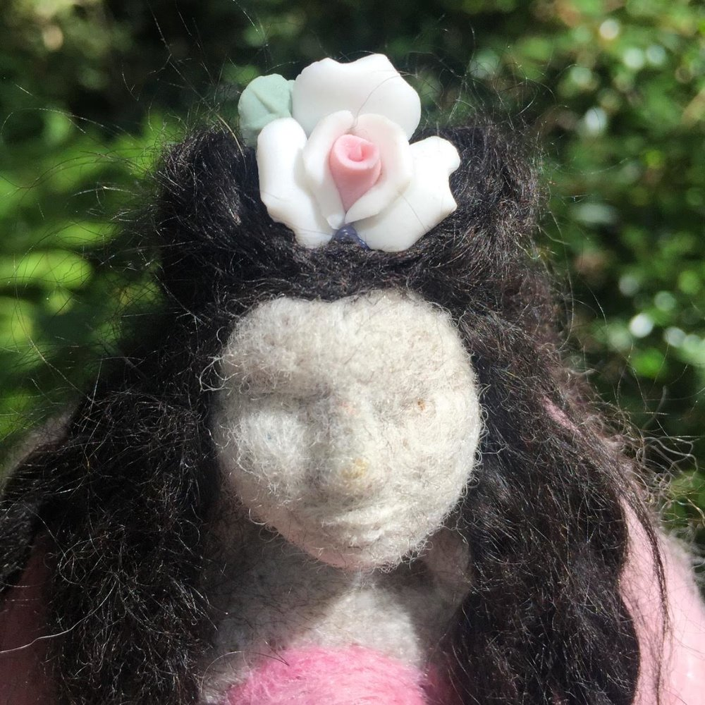 The Rose Dreamer - Spirit Doll