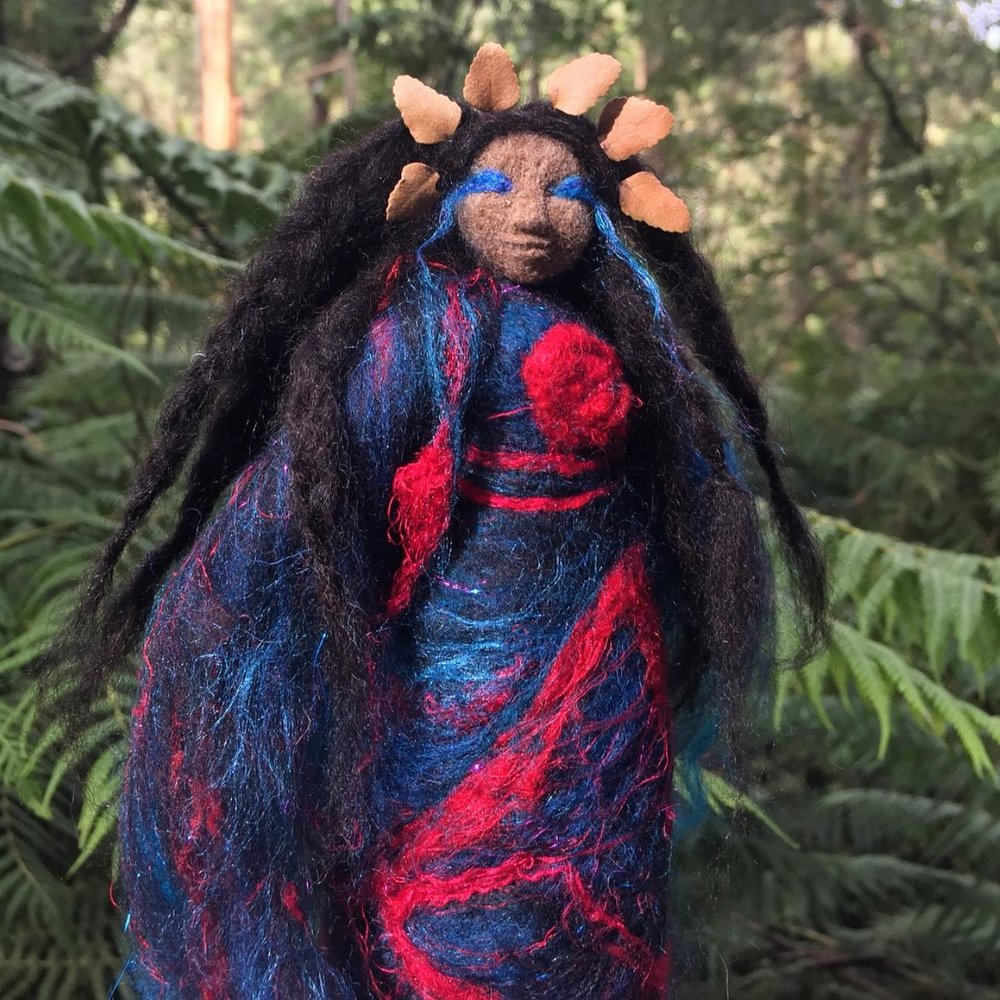 The Blackbird Spirit Doll -