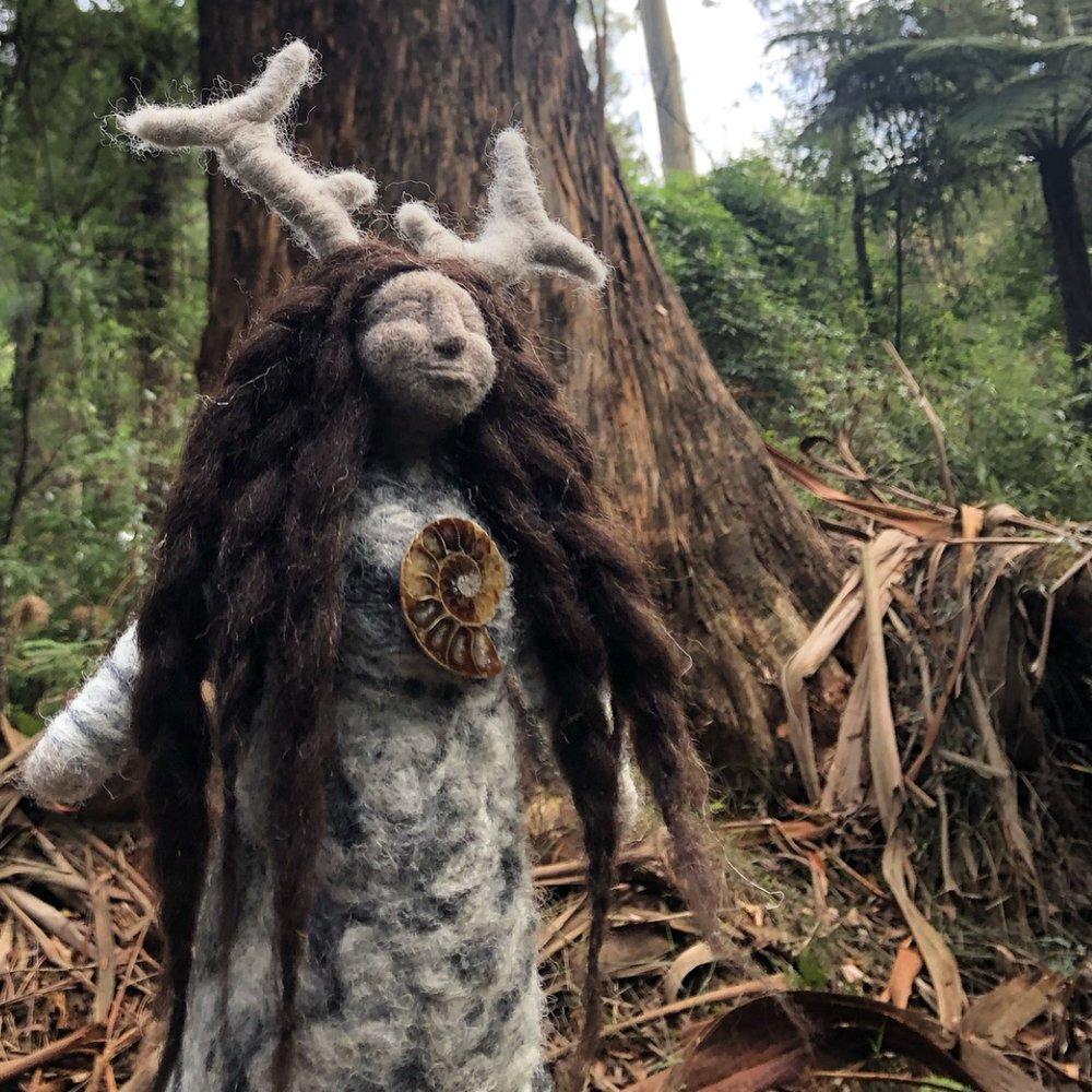 Isle of Skye Altar Doll -