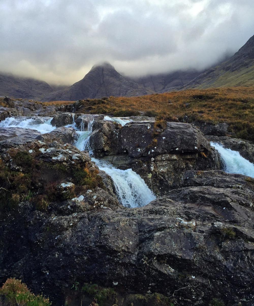 Fairy Pools on the Isle of Skye - Sacred Familiar Scottish Pilgrimage