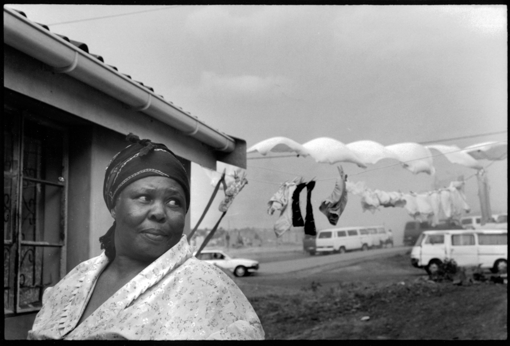 Woman and Clothesline, Kwa-Mashu
