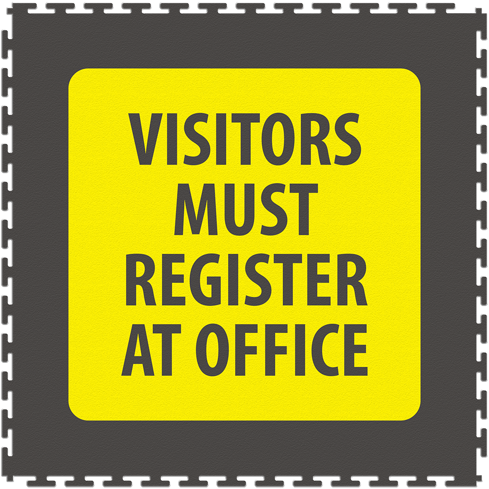 Visitors must register at office.png