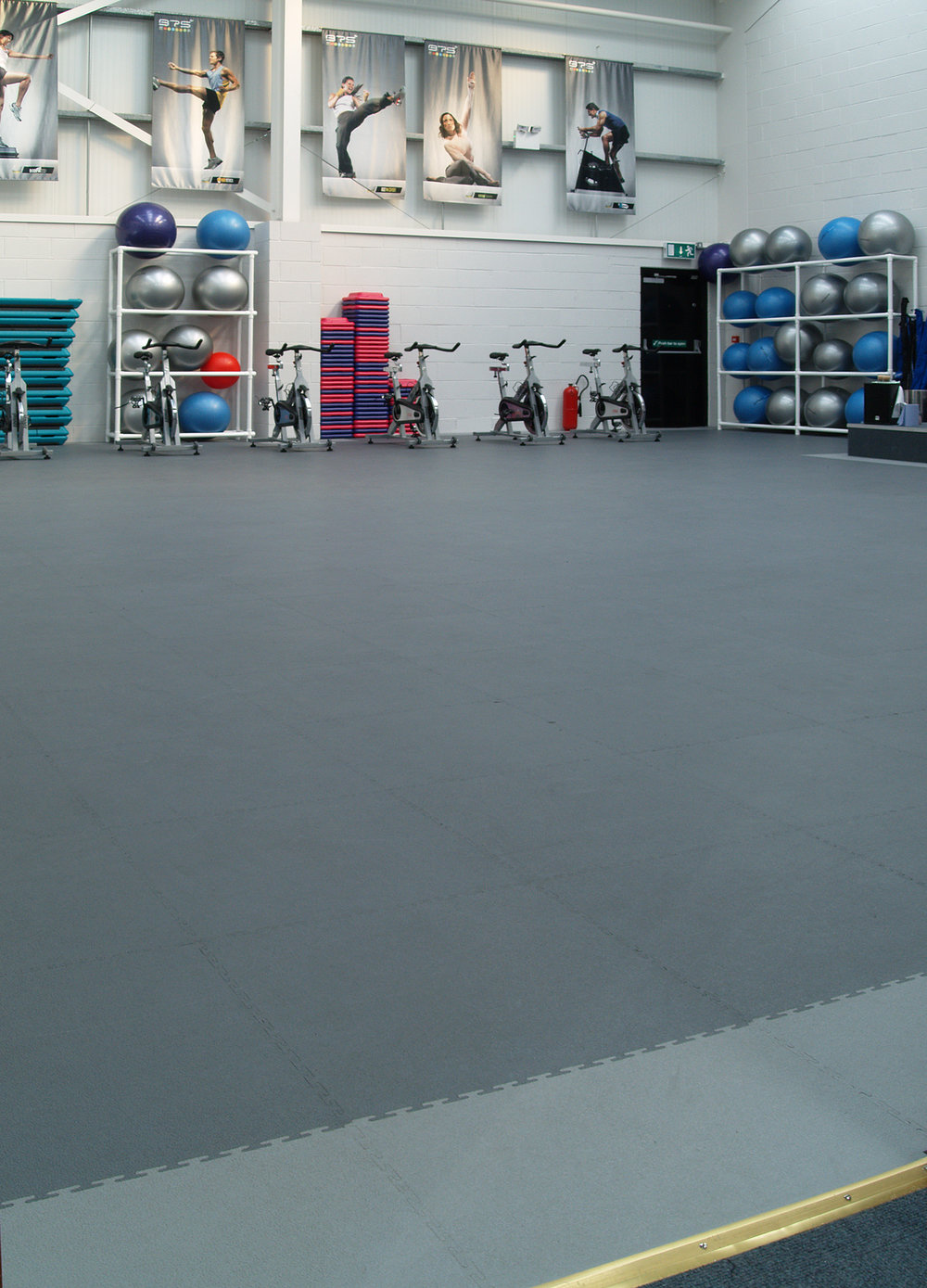 Commercial Gym Floor