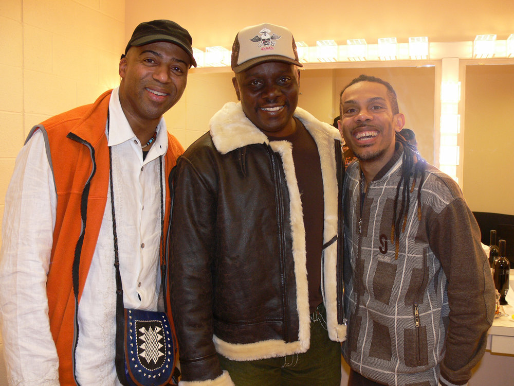 Keith Robinson, Philip Bailey, David Tigger Whitworth