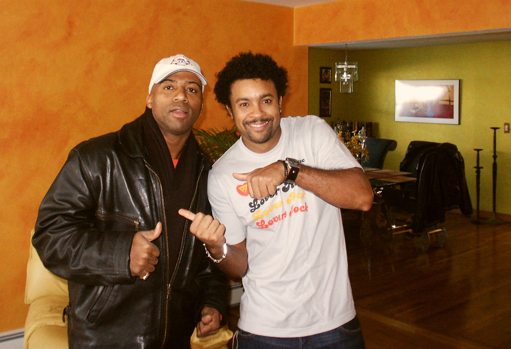 Keith Robinson and Shaggy
