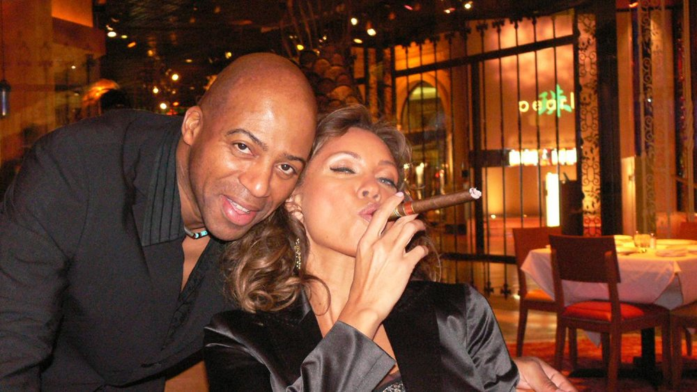 Keith Robinson and Vanessa Williams