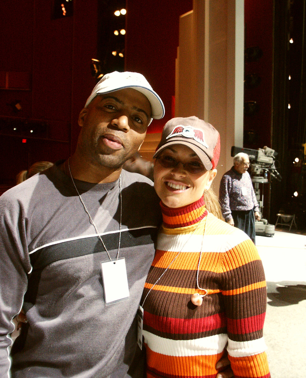 Keith Robinson and Anastacia
