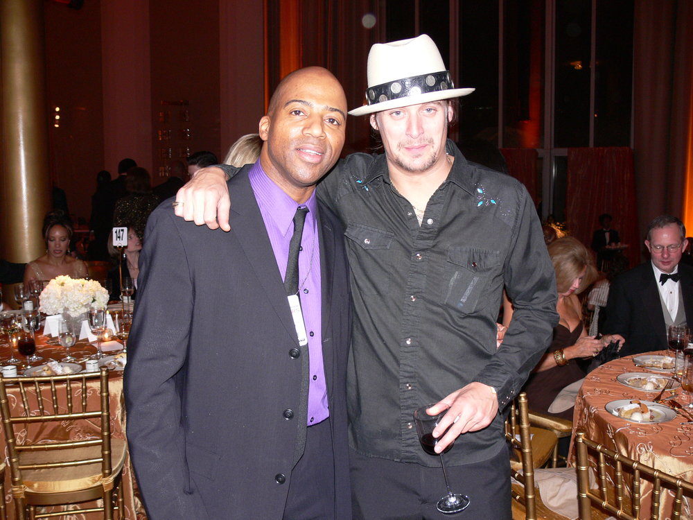 Keith Robinson and Kid Rock