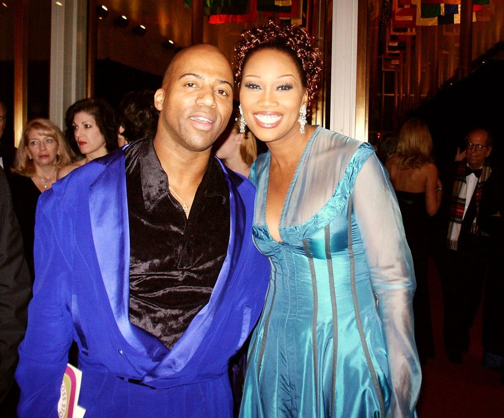 Keith Robinson and Yolanda Adams