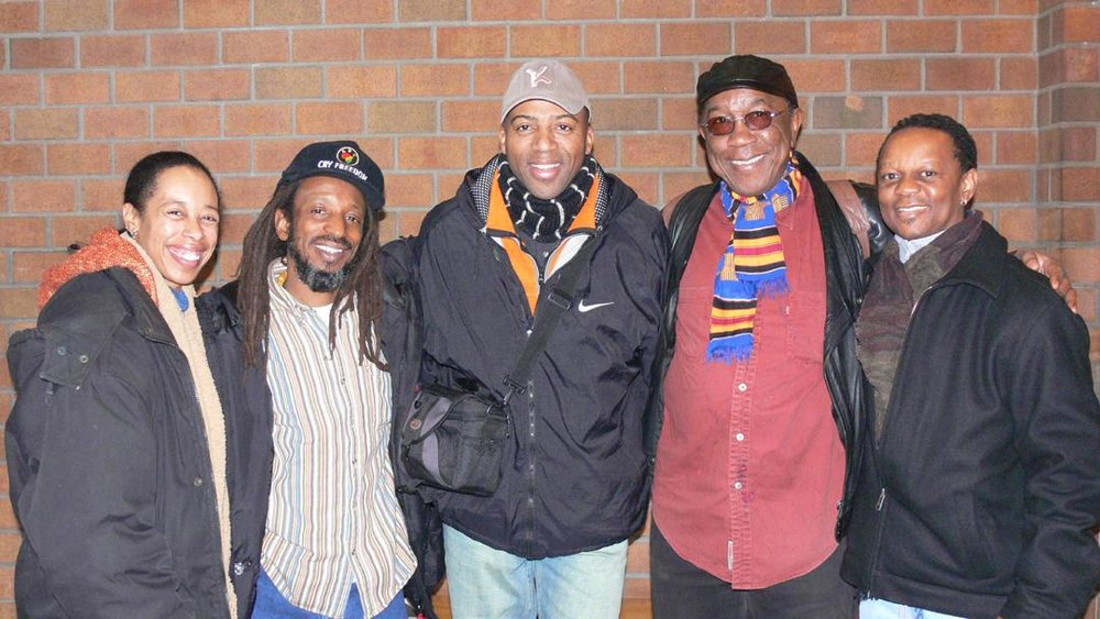 Jah Mobley, K.Robinson, Dick Griffin and Sipho Kunene