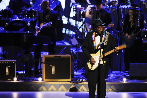 Buddy Guy and Keith Robinson, Tribute to Carlos Santana, Kennedy Center Honors 2013