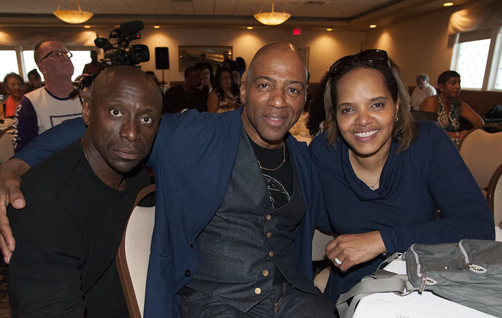Damon Duewhite, Keith Robinson and Terri Lyne Carrington