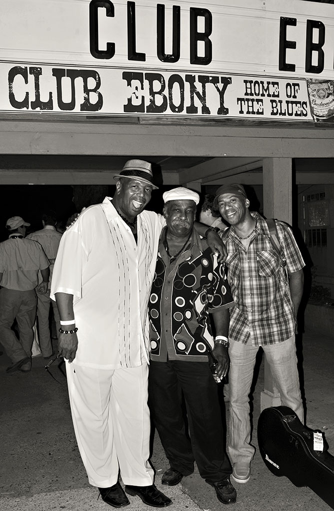 Jessie Robinson, Keith Robinson at Club Ebony, Indianola, Mississippi