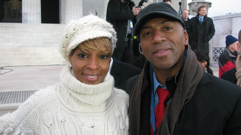 Mary J. Blige and Keith Robinson