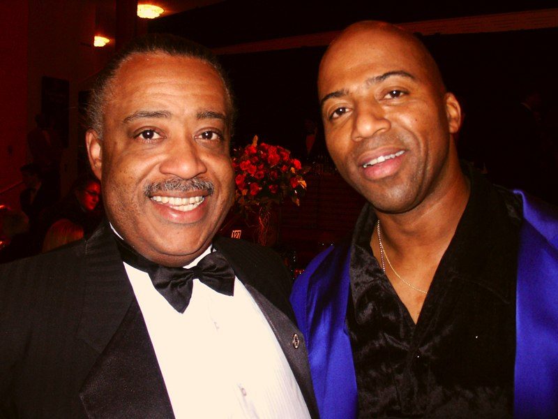 Rev. Al Sharpton and Keith Robinson