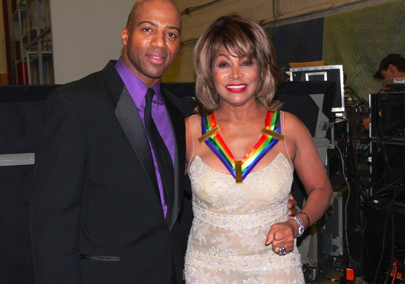 Keith Robinson and Tina Turner