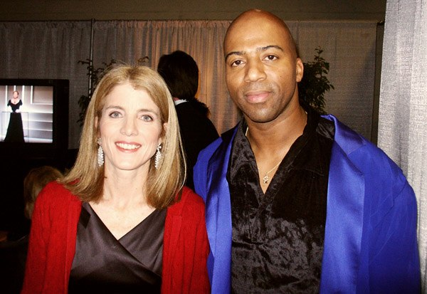 Caroline Kennedy and Keith Robinson