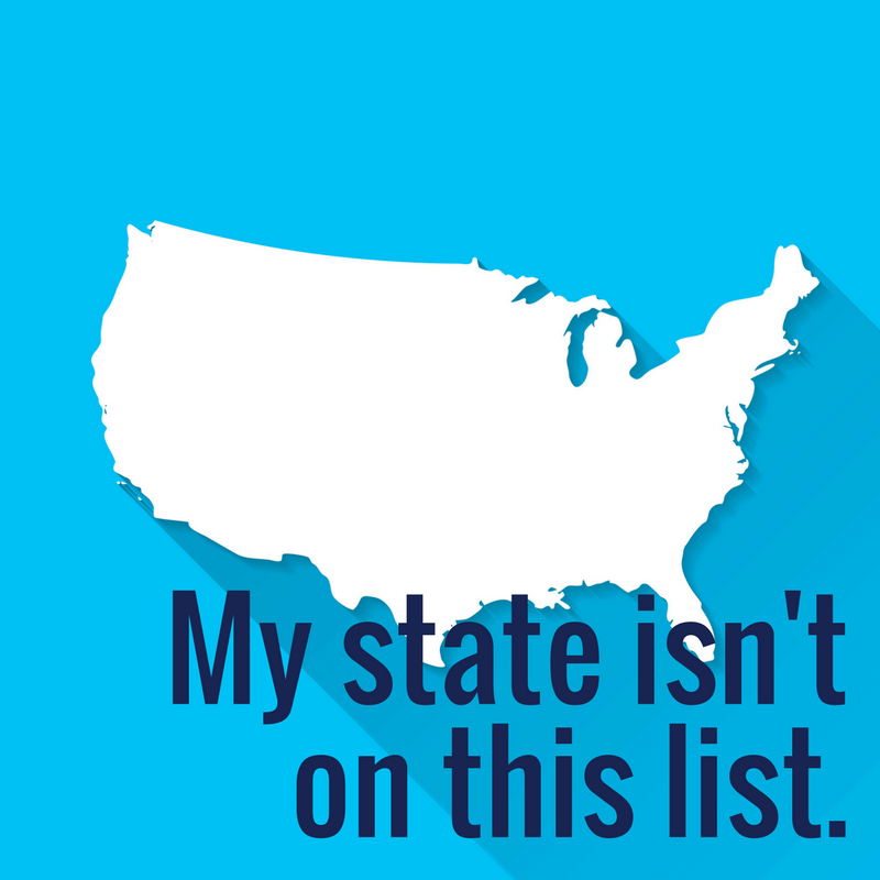 My State Isn't On This List