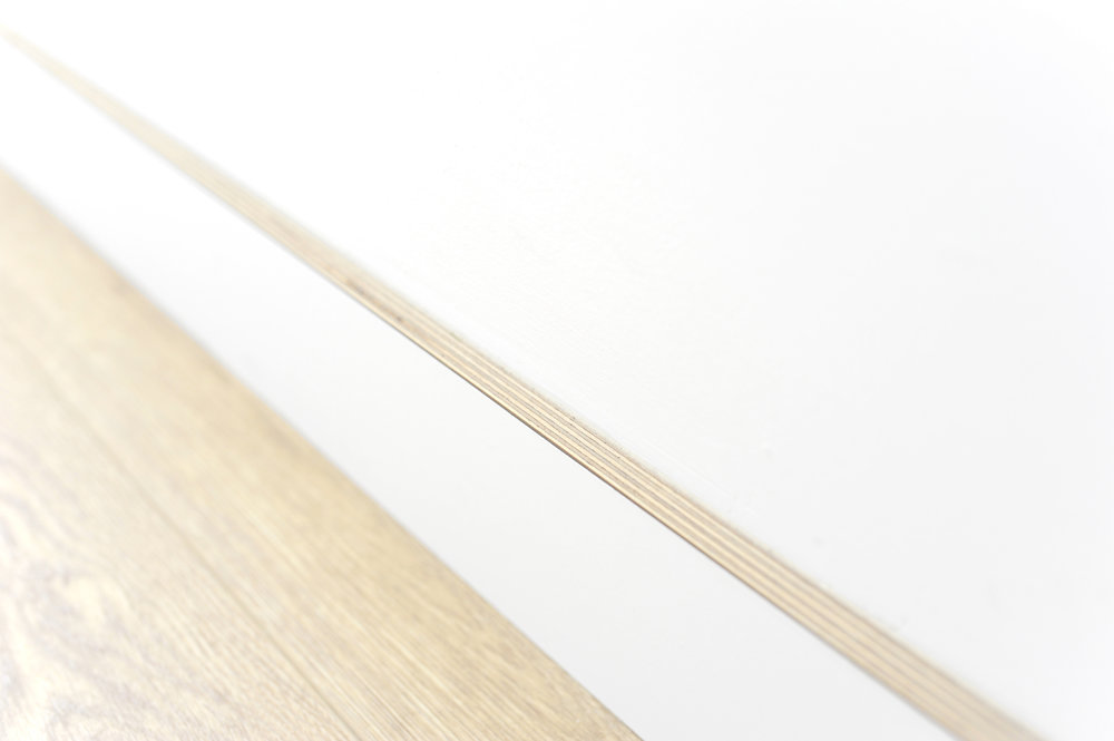 Birch Plywood Baseboard - -