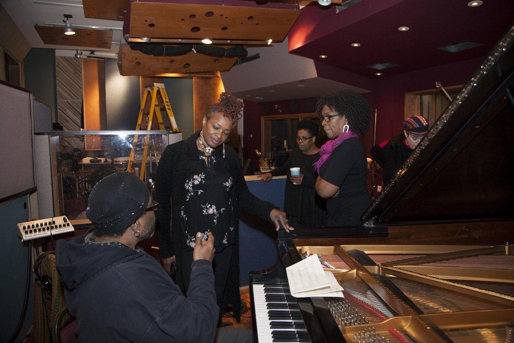 Firey String Sistas! @Brooklyn Sound Recording