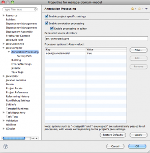 Annotation Processor Screenshot - Spring Source Toolkit
